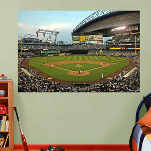 Inside Safeco Field Mural Fathead Wall Decal